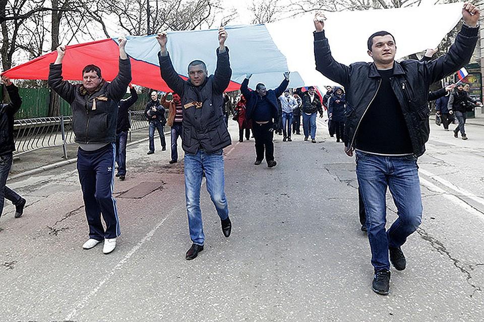 В Севастополь пришла русская весна