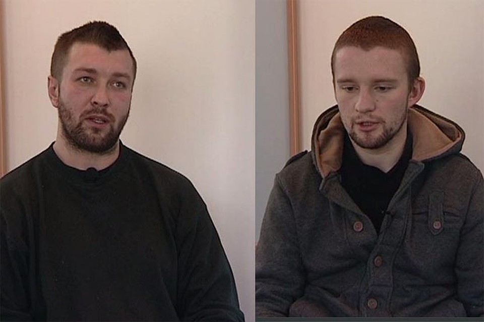 Артем Головко (слева) и Виталий Кривошеев.