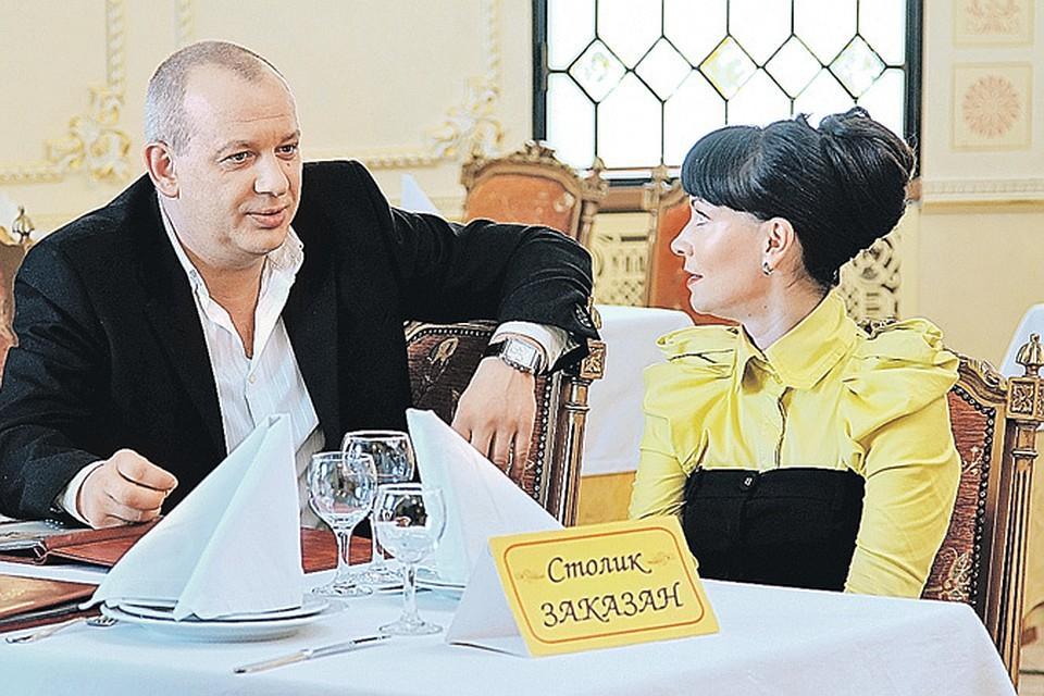 Марьянов и Гришаева сыграют в новом сериале бывших супругов.