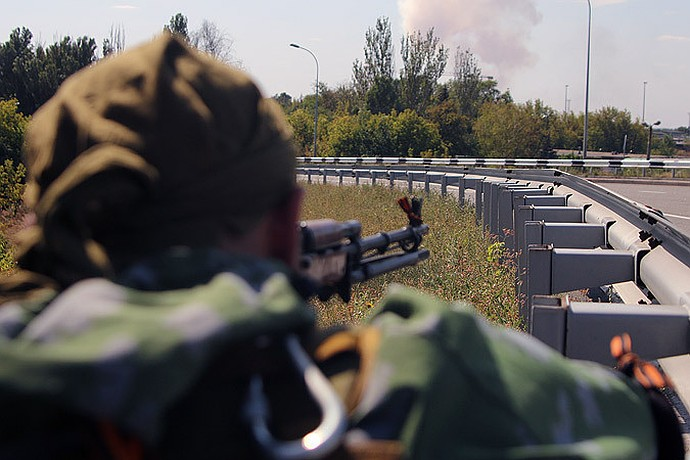Армия ДНР перерезала все пути снабжения украинской группировки, окопавшейся в самом сердце Донбасса
