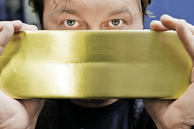 Наша страна стремительно наращивает запасы золота.