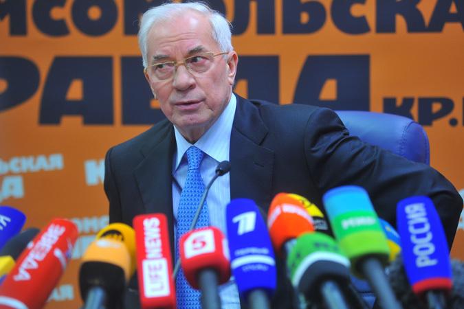 Сегодня Николай Азаров проводит пресс-конференцию для отечественных и зарубежных журналистов