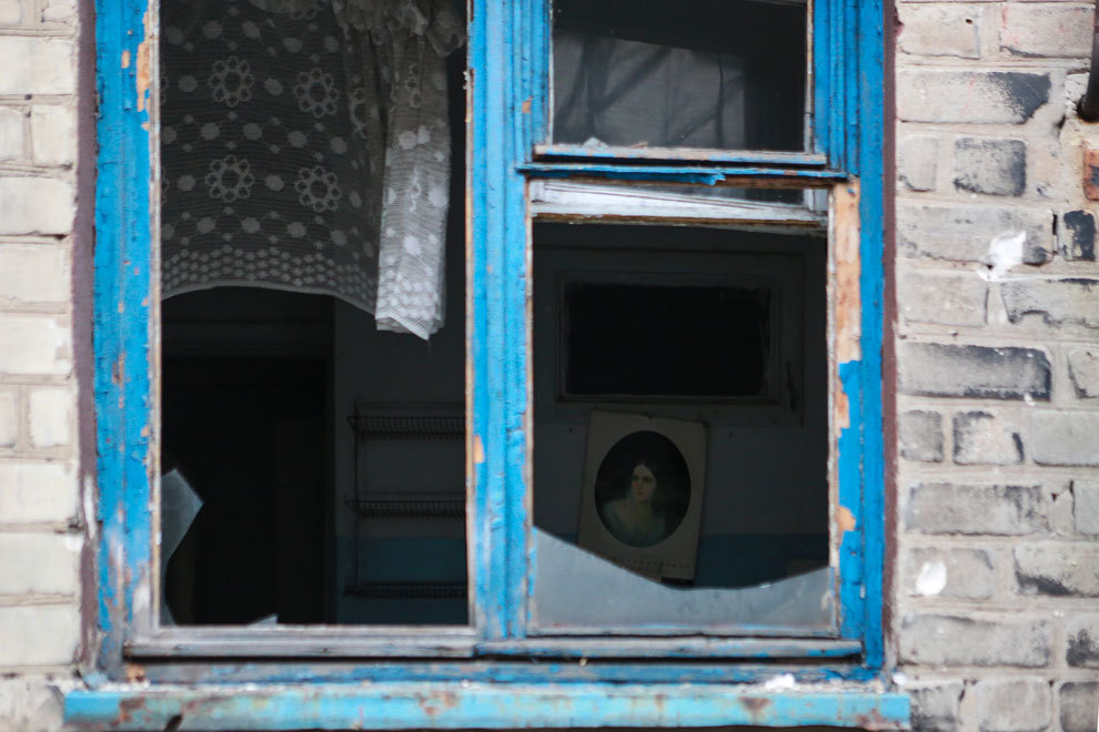 80% строений в Дебальцево разрушено. Фото: Нигина БЕРОЕВА