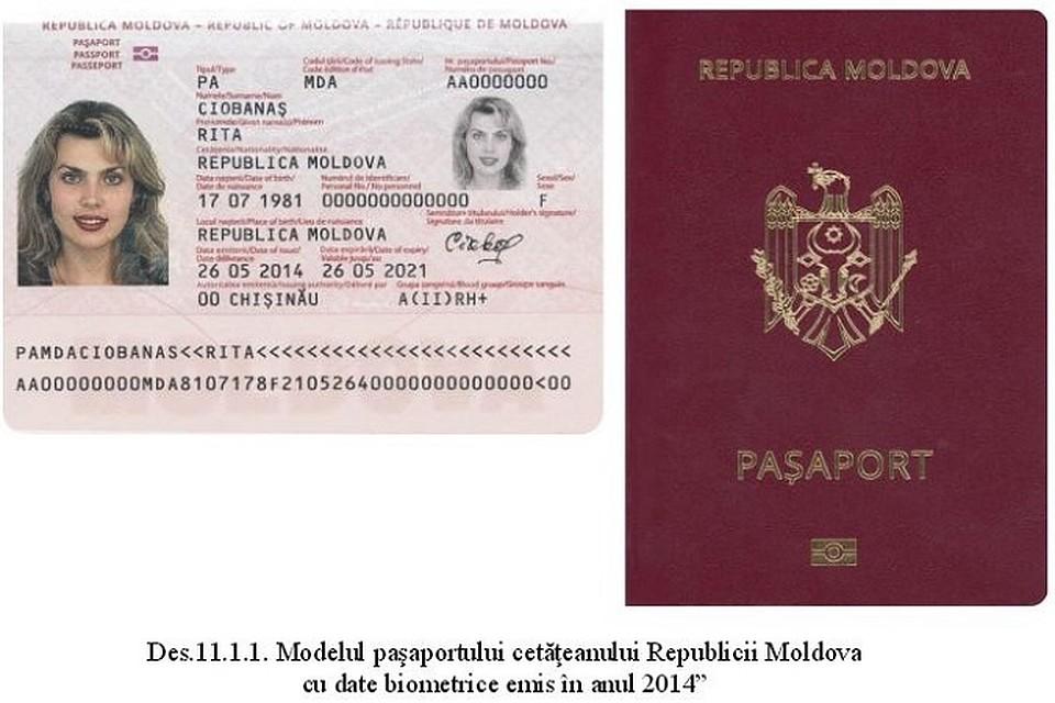 Как сделать загранпаспорт молдовы