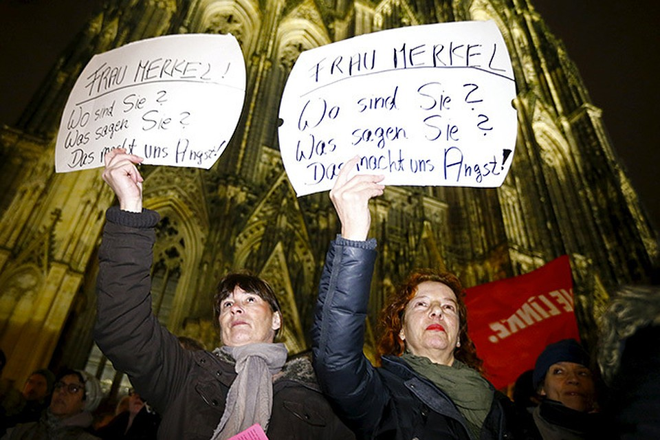 Жители немецкого Кёльна требуют защитить их от нападок со стороны мигрантов.