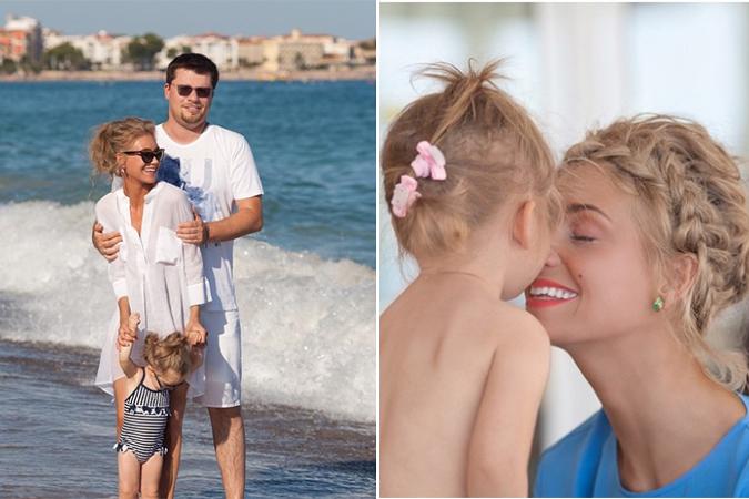Гарик Харламов и Кристина Асмус поздравили дочку с двухлетием. Фото: Инстаграм.