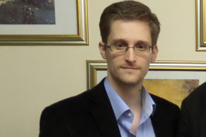 Эдвард Сноуден посетил выставку в Лас-Вегасе