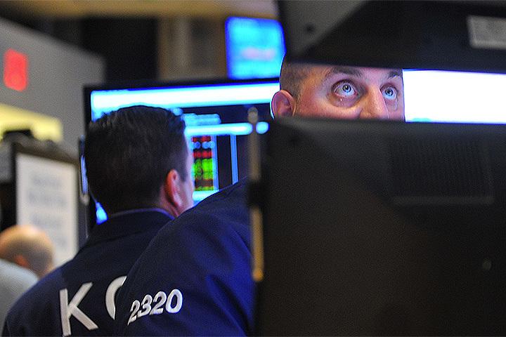 На фондовом рынке США — сильнейший обвал за сто с лишним лет