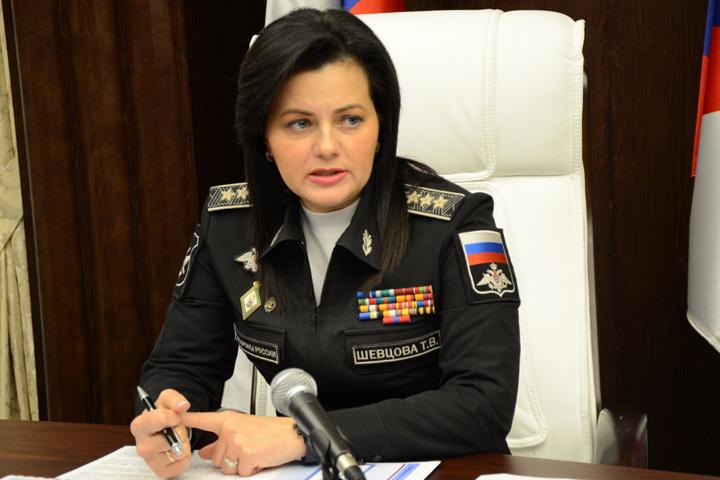 Заместитель Министра обороны России Татьяна Шевцова