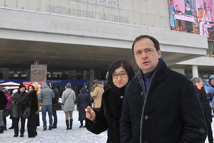 Владимир Мединский: Выставку Серова мы продлили еще на неделю