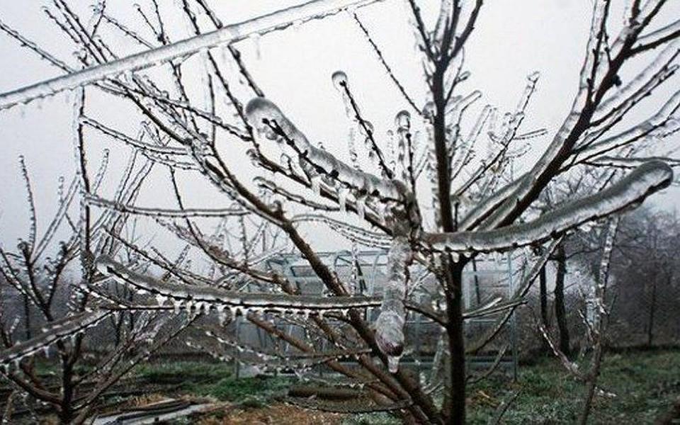 На Москву надвигается ледяной дождь