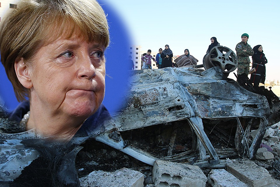 Странно, что фрау Меркель приводят в ужас не старательно и профессионально задокументированные зверства террористов