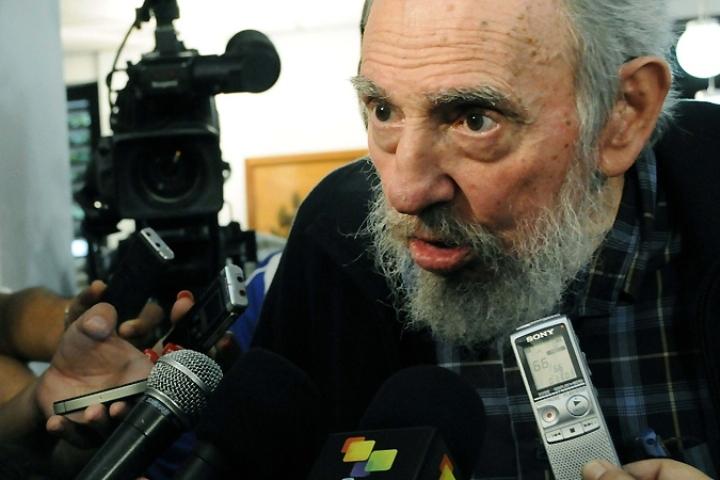 Фидель Кастро отметил важность встречи патриарха Кирилла с папой Римским