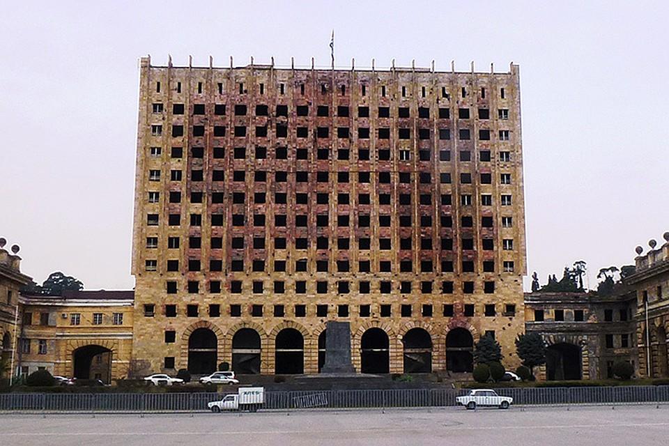 Абхазия до сих пор в руинах