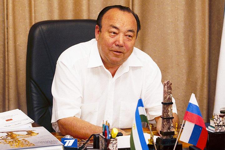 Муртаза Рахимов на рабочем месте руководителя Башкортостана в 2005 году.
