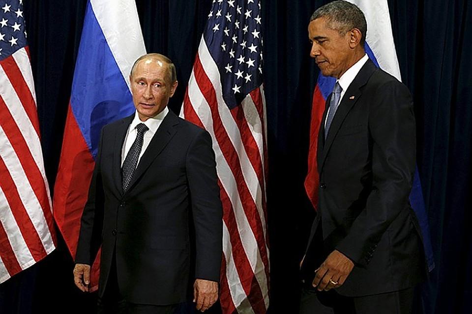 Путин и Обама обсудят возможность прекращения сирийского военного конфликта