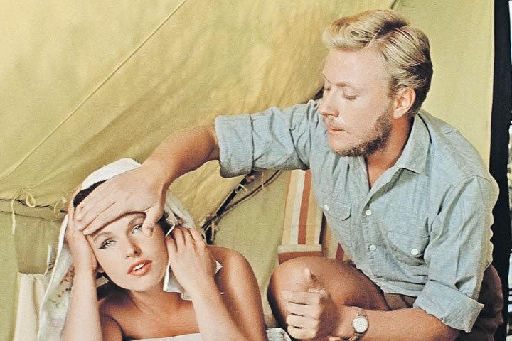 На съемках картины «Три плюс два» Миронов страстно влюбился в Наталью Фатееву. Фото: Кадр из фильма