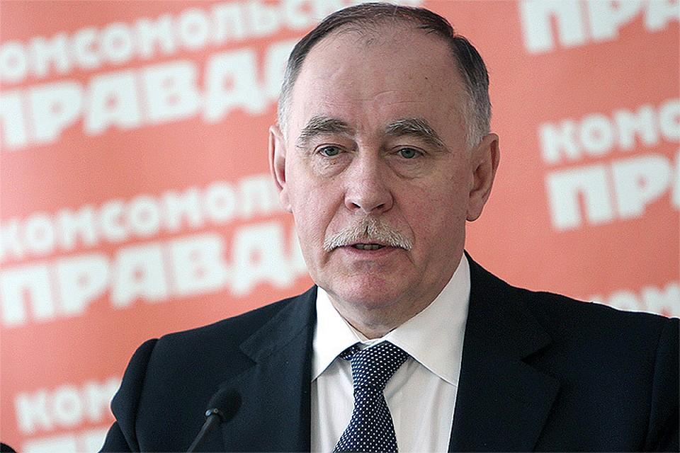 Глава Федеральной службы по контролю за наркотиками (ФСКН) России Виктор Иванов.