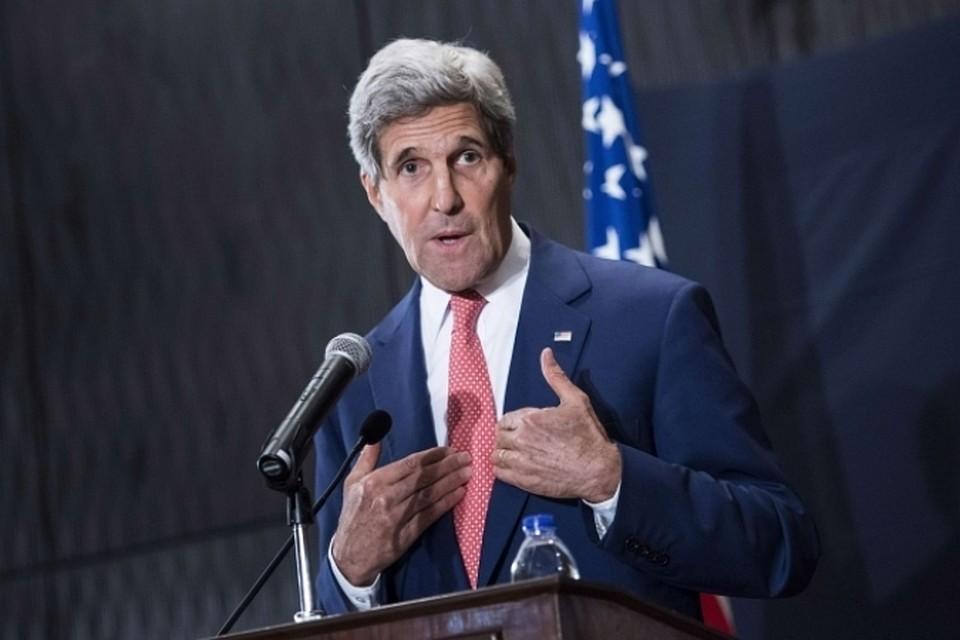 Госсекретарь США Джон Керри посетит Москву с визитом