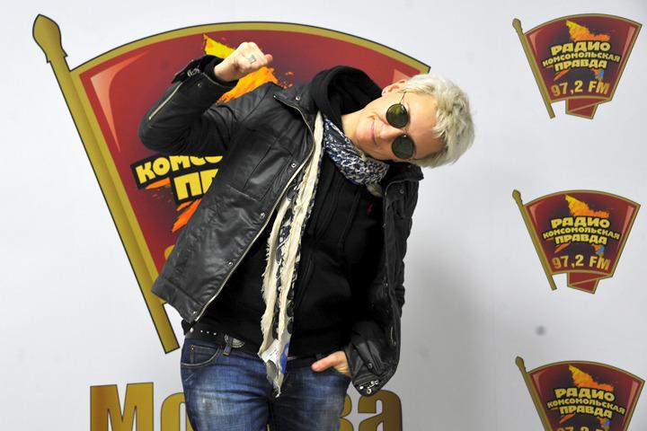 Диана Арбенина в гостях у Радио «Комсомольская правда» с презентаций альбома «Выживут только влюбленные»