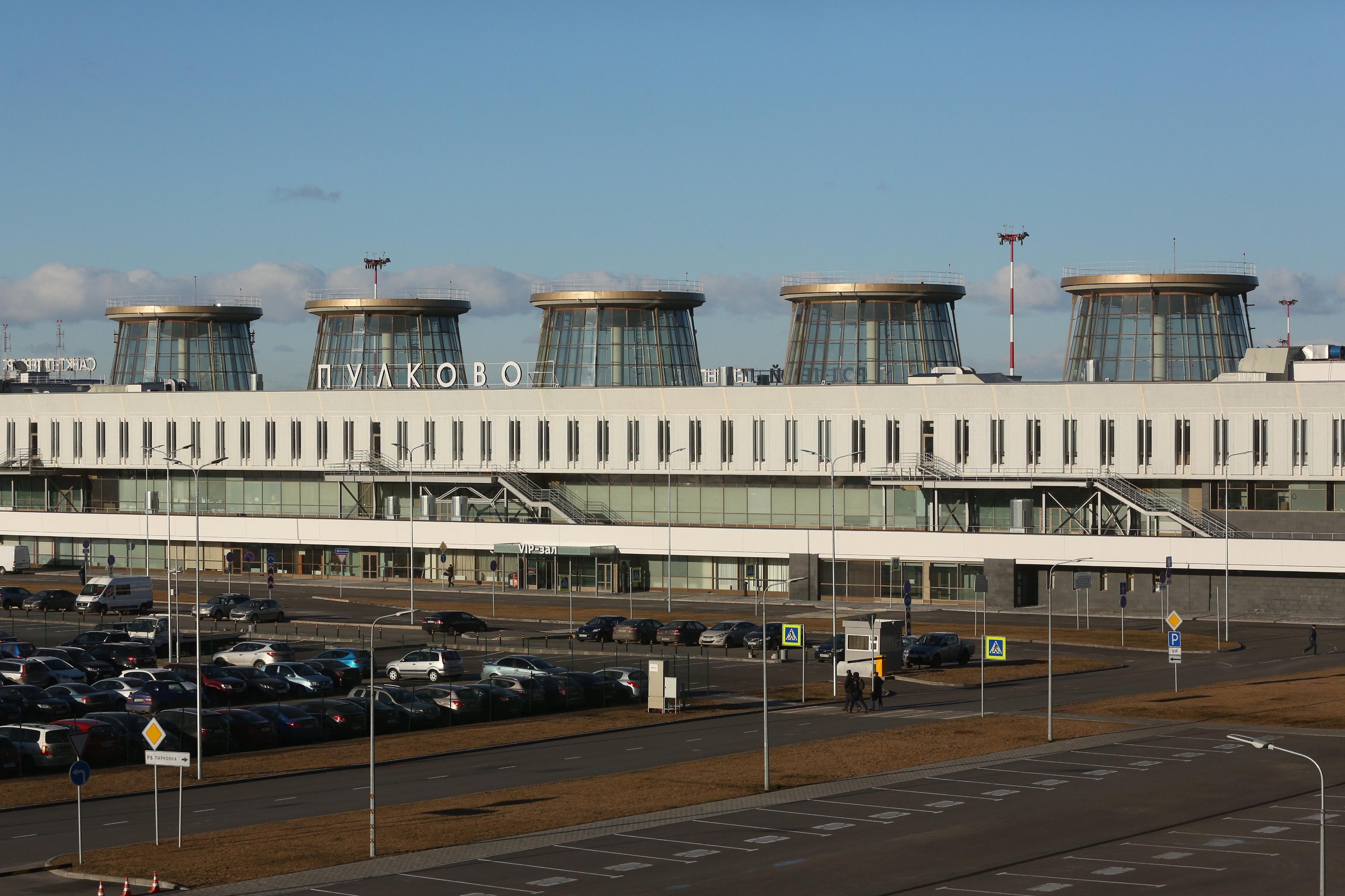 видео схема терминала пулково новый