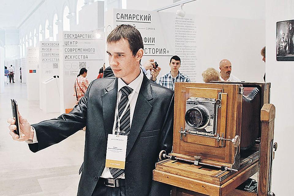 Экспонатов с которыми можно сделать классное селфи на Интермузее будет предостаточно