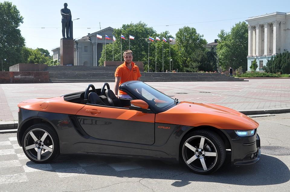 Новый русский спорткар «Крым» презентовали вСевастополе