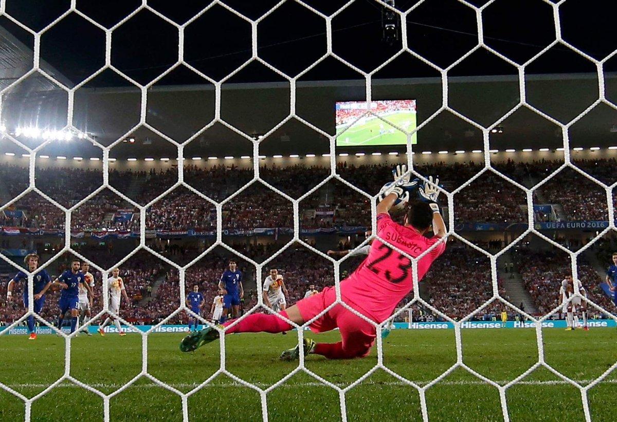 Хорватия неожиданно обыграла Испанию в матче плей-офф Евро-2016