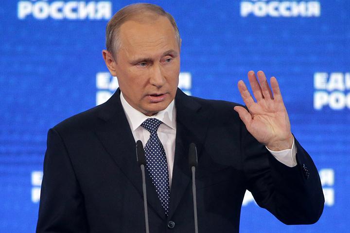 Во главу угла Путин поставил «маленького человека». Фото: Михаил Метцель/ТАСС