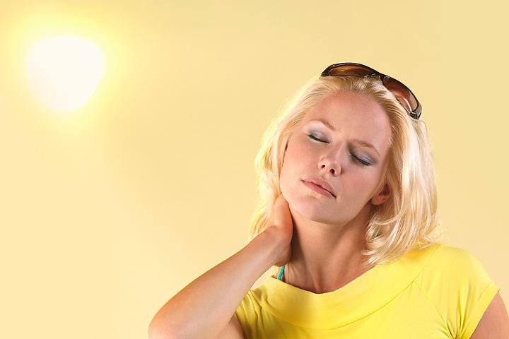В жару даже здоровый организм испытывает самый настоящий стресс