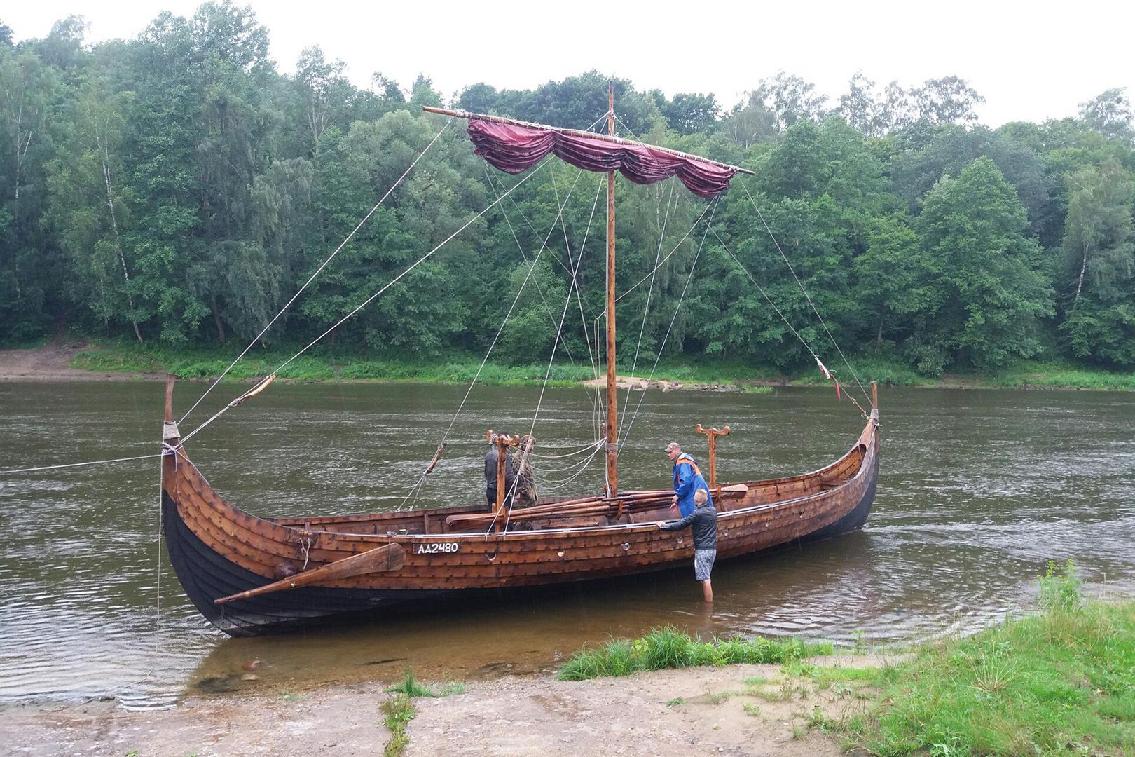 лодки викингов описание
