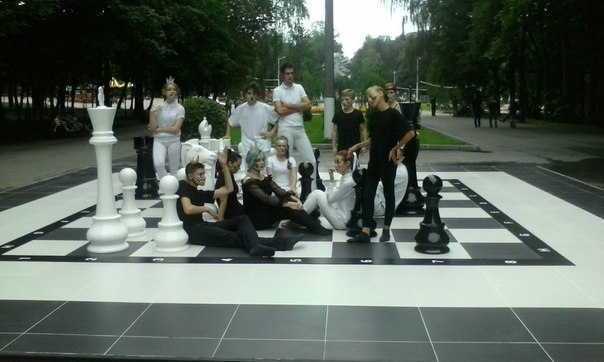 Водном изпарков Тулы установят «Большие шахматы»