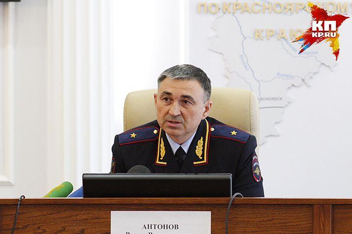 Президент освободил отдолжности основного полицейского Красноярского края