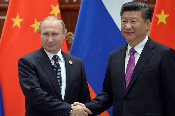 Сладкий подарок В.Путина лидеру Китайская народная республика