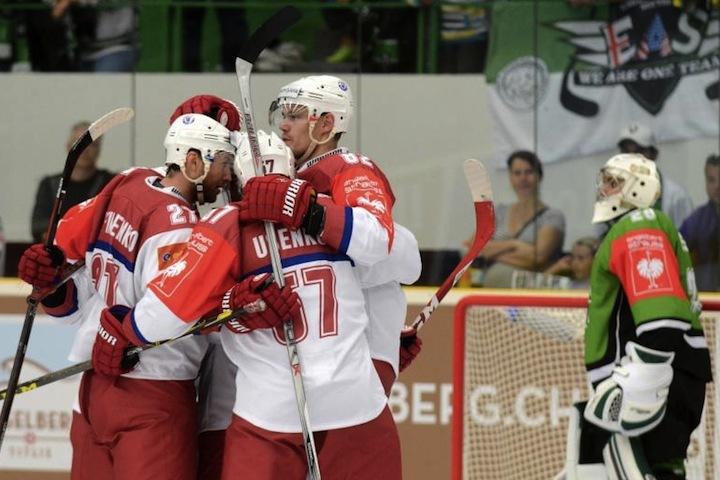 Минская «Юность» пробилась вплей-офф Лиги чемпионов— Хоккей