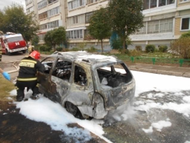 ВЧелнах всгоревшем автомобиле найдено мужское тело