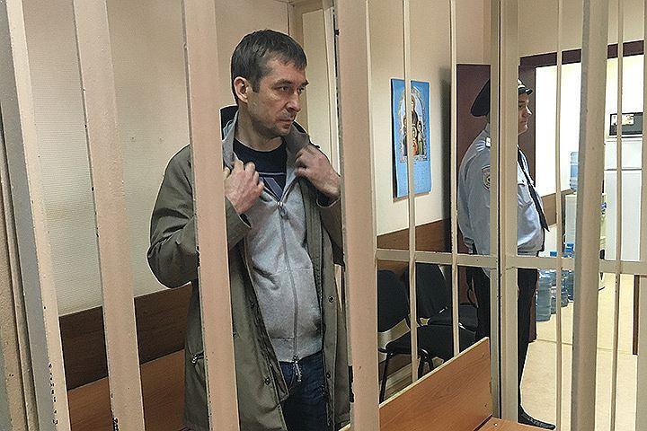 Заместитель начальника управления «Т» Главного управления экономической безопасности МВД Дмитрий Захарченко не признает себя виновным