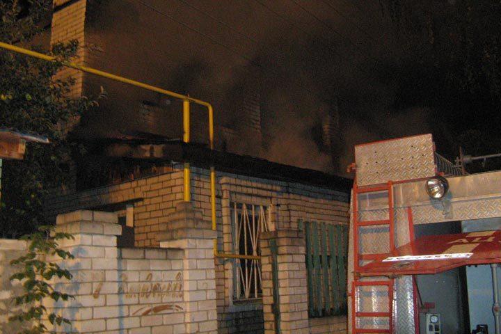 ВСормовском районе сгорел дом: погибла целая семья
