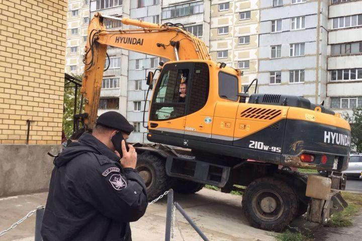 Наулице Кул Гали снесли торговый комплекс