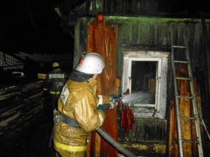 ВСмоленске вночном пожаре умер 34-летний мужчина