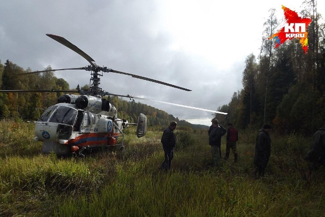 Вертолет МЧС совершил санитарный вылет изТвери вНижний Новгород
