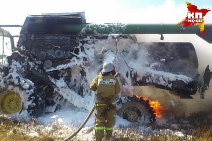 Летний курянин угнал автомобиль и, разочаровавшись внем, сжег прямо натрассе