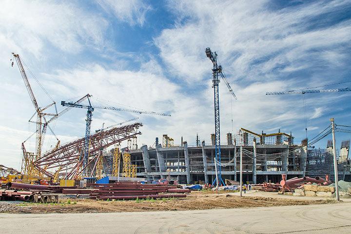 Мутко объявил обеспокойстве поповоду возведения стадиона наКрестовском острове