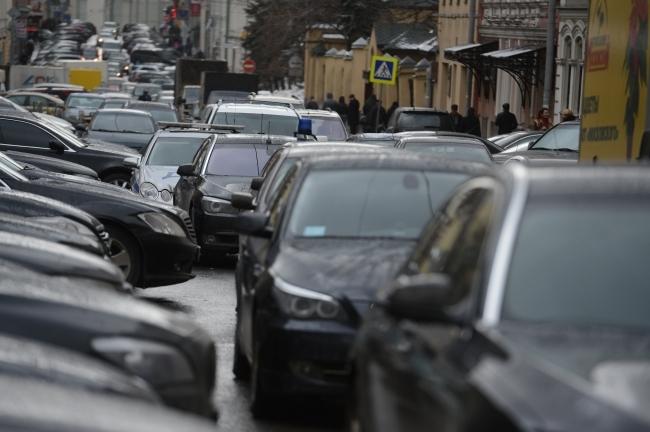 Крупнейшая пробка недели появилась вКанавинском районе