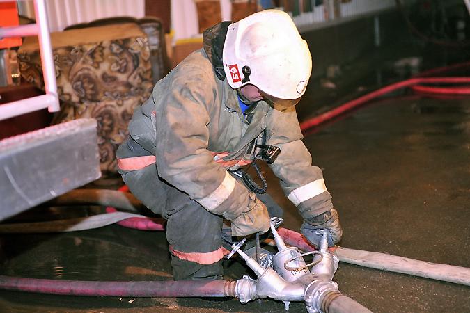 17-летний парень умер при пожаре вНовосибирске