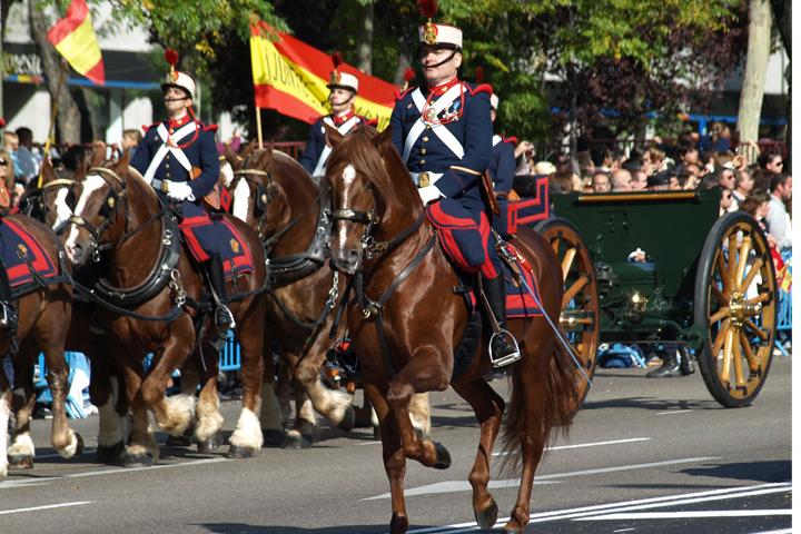 Впервые в истории празднование Испанидада прошло в стране без настоящего правительства