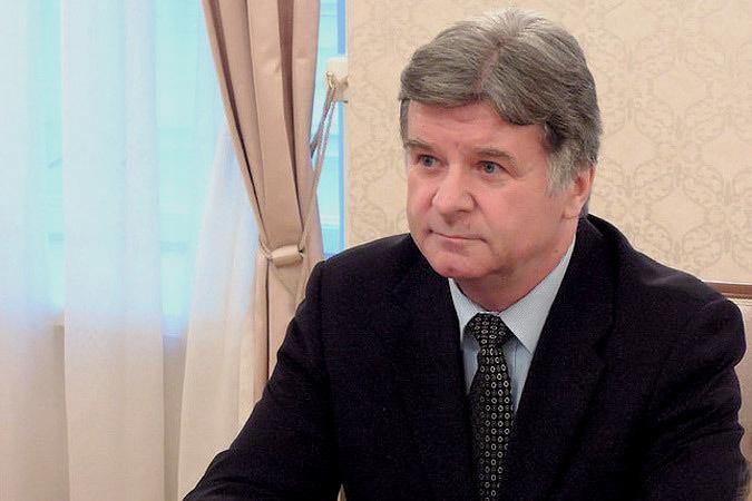 Чрезвычайный и полномочный посол Российской Федерации в Эстонской Республике Александр Петров. Фото: с сайта Postimees.ru