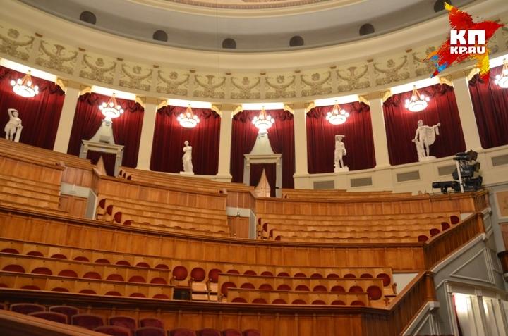 Оперный театр Новосибирска отчистят отжвачки за2,3 млн. руб.