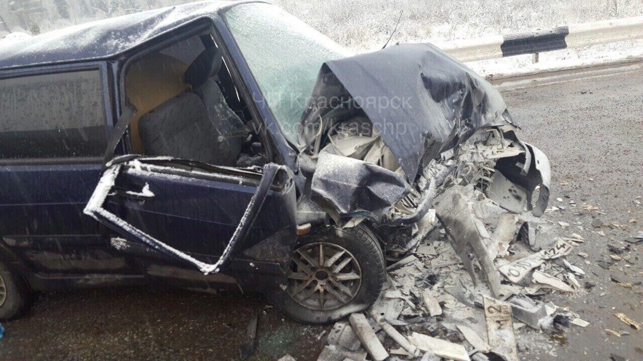 4 человека отправлены вбольницу после ДТП с«неуправляемым» авто под Уяром