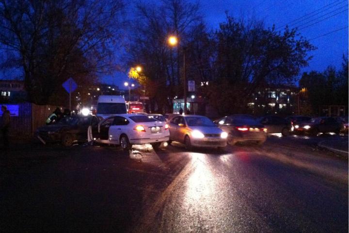 Тройное ДТП вКирове: пострадала 17-летняя девушка